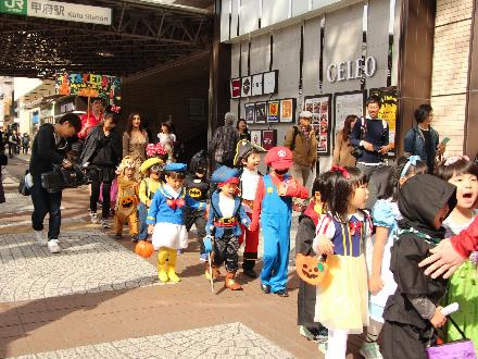 10月30日 ハロウィンパレード