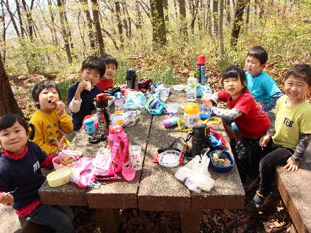 4月20日 湯村山ハイキング